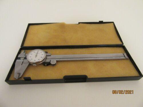 Vintage Aerospace Dial Caliper in Case 0.001 in
