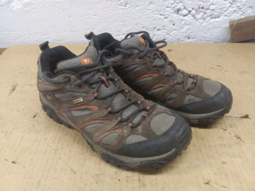 Merrell Moab Brown Waterproof Hiking Shoes Mens 9