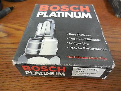4 Bosch Platinum Spark Plugs 4221