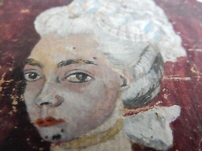 1700s miniature painting Antoinette  Fashion follower  couture  hairstyle rococo