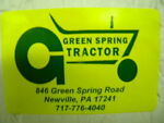 Green Spring Tractor
