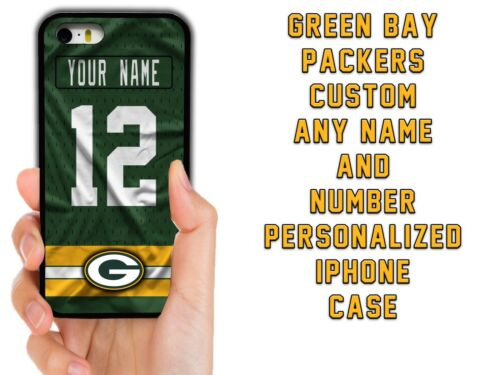 GREEN BAY PACKERS CUSTOM CASE FOR IPHONE XS 11 12 MINI PRO MAX XR 5C 6 7 8 PLUS