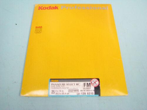 KODAK 8x10 PANALURE SELECT RC FM (GLOSSY) 25 SHEET