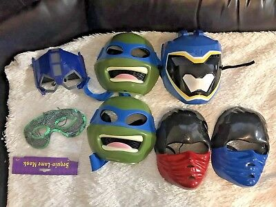 Transformer Dress Up (Face Masks Halloween- Dress Up Turtles-Masquerade-Ninja-Transformers-Power Range)