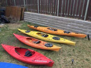 Buy 3 Kayaks get 1 free