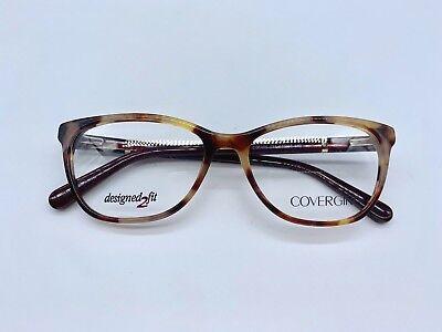Covergirl CG0466 Designer Eyeglasses 53-16-140 Bordeaux 071 Glasses