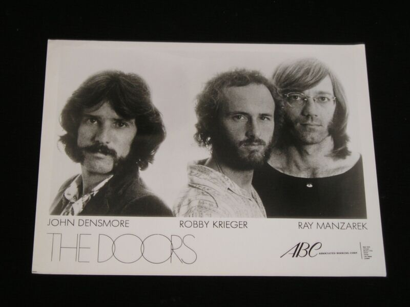 "The Doors-ORIGINAL 1972 ""Other Voices"" Publicity Photo!"