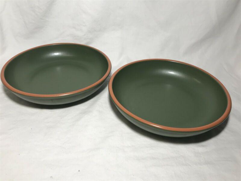 Set of 2 Casa Verde Terra Cotta Tableware Serving Pasta Bowl 10 3/4 Inch 11