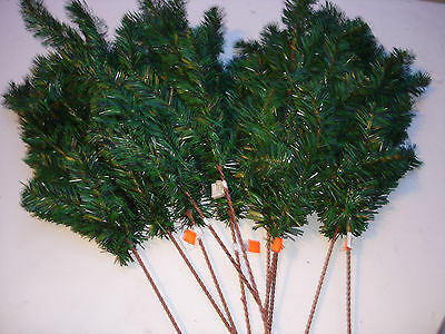 "NEW Christmas picks 11 pc Pine 24"" bulk wholesale lot floral Crafts FLOWERS #1"