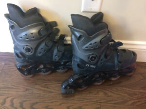 Roller blades patins à roues pointure 8