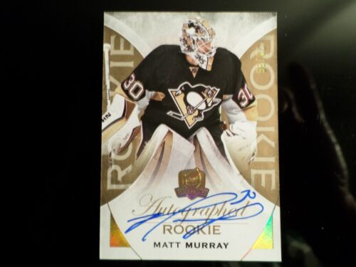 2015-16 MATT MURRAY THE CUP GOLD AUTOGRAPHED ROOKIE RC d#/36 SP (1)