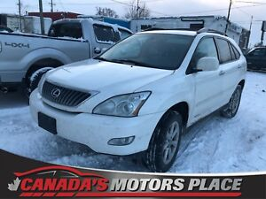 2009 Lexus RX 350, leather, memory seats, certified!
