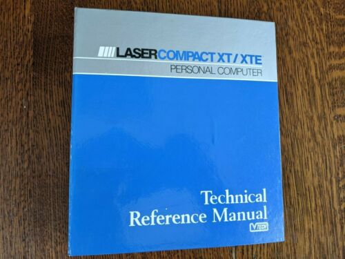 1987 VTech Laser CompactXT/XTE Computer Technical Reference Manual 91-2102-14-00