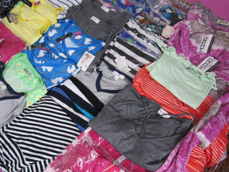 Womens Wholesale Clothing Mixed Resale Lot Shirts Pants Skirts and Others!