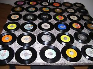 LOT# 1= HITS ON VINYL (45's) from the 60's.70's & 80's