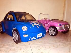 Barbie toy cars