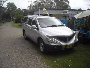 2010 Ssangyong Actyon Sports Ute Tuncurry Great Lakes Area Preview