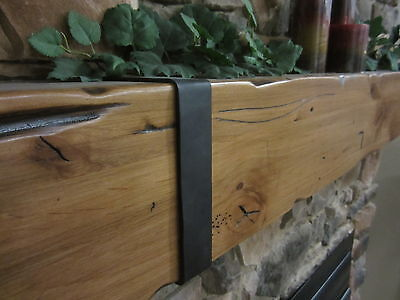 Fireplace Mantel Rustic Knotty Alder Salvaged Barnwood Post Timber Beam Rail Tie