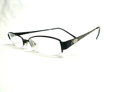 GUESS GUESS GU1675 BLK 50-17-135 EYEGLASSES BLACK HALF RIMLESS (Guess Rimless Glasses)