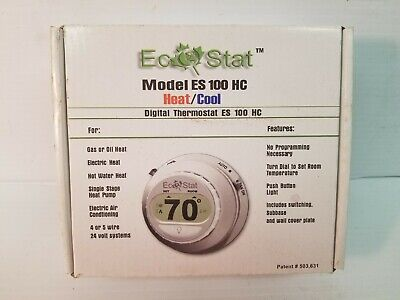 Thermostat Wall Mount Non-programable Dial-set 24-30vac