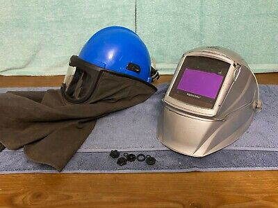 Miller Electric Digital Elite Welding Helmet With 259387 Papr Shell Assembly