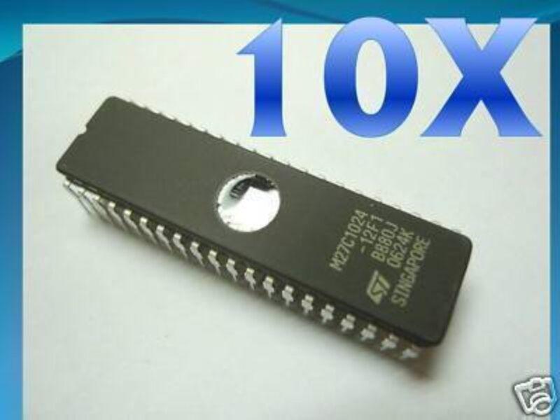 10pcs ST 27C1024 UV EPROM M27C1024 *1M* M27C1024 RH