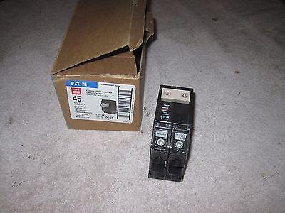 Eaton Cutler Hammer 45amp 2 Pole Circuit Breaker Chf245