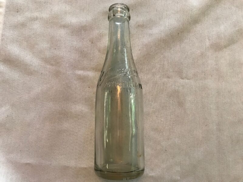 YUENGLING Beer Vintage Embossed Beer Bottle RARE, Pottsville, Pa.
