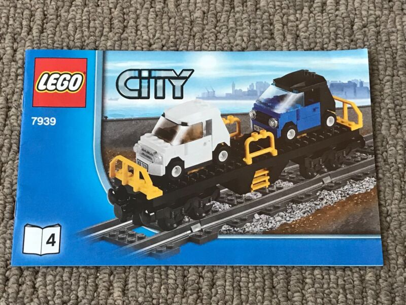 Lego City 7939 Cargo Train Discontinued By Manufacturer Toys