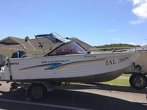 2002 Quintrex 500 Freedom Sport Nelson Bay Port Stephens Area Preview