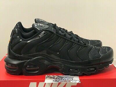 9ab8c540289c New Nike Air Max Plus TN Triple Black 604133 050 97 95 Vapormax 270 720 Mens