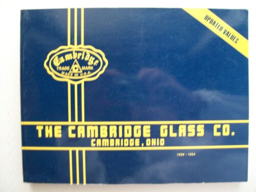 ANTIQUE CAMBRIDGE GLASS PRICE GUIDE COLLECTOR