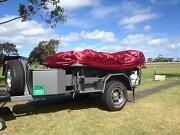 NEW 7x4 ULTRA HEAVY DUTY OFFROAD CAMPER TRAILER Rosebud Mornington Peninsula Preview