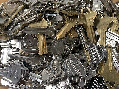 10 Pair Sc1 Precut Keys For Schlage Locks 5 Pin Locksmith Locksport