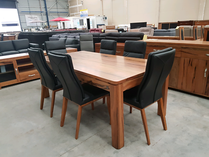 New Marri timber Dining table