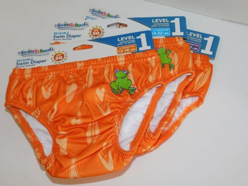 Swim Diapers Boy Reusable 6 12 18 Months Washable