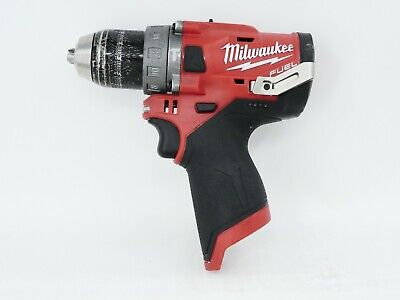 Milwaukee M12 Fuel Brushless Cordless 12 In. Hammer Drill 2504-20 Used Tool