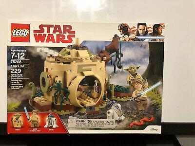 Lego Star Wars Yoda's Hut (75208) Brand New!