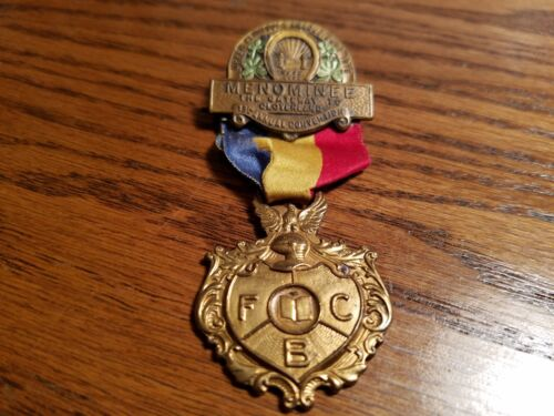 VINTAGE 1915 KNIGHTS OF PYTHIAS 13th ANNUAL CONVENTION PIN