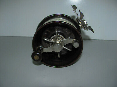 Vintage Charles Alvey 450 C1-7 Fishing Reel Made In Brisbane Excellent Condition