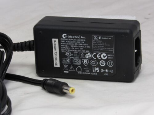 GlobTek ITE Powersupply AC Adapter GT-21089-1305-T3 EW