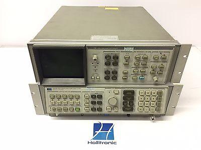 Hp 8568b Spectrum Analyzer 100hz-1.5ghz W 85662a Display No Cables