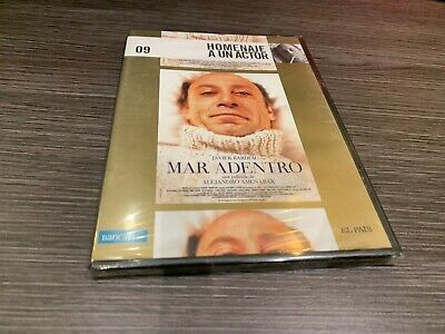 MAR ADENTRO DVD JAVIER BARDEM ALEJANDRO AMENABAR SLIMCASE SEALED