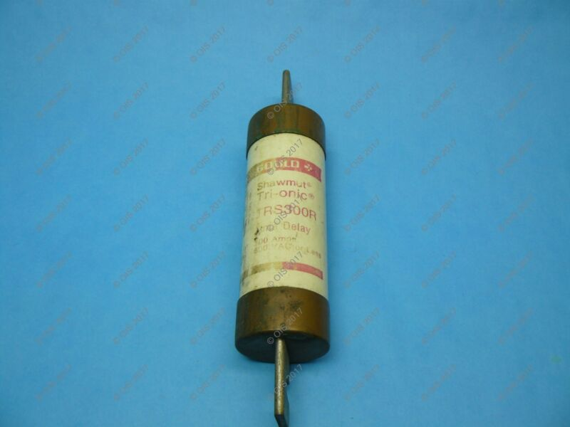 Shawmut TRS300R Time Delay Fuse Class RK5 300 Amps 600VAC/DC Tested