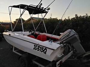 40hp fibreglass bow rider boat Cambooya Toowoomba Surrounds Preview