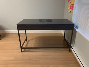 IKEA grey desk