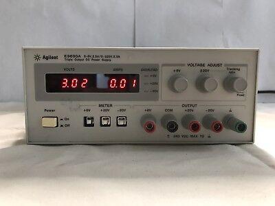 Hp Agilent E3630a 0-6v 2.5a0-20v 0.5a Triple Output Dc Power Supply