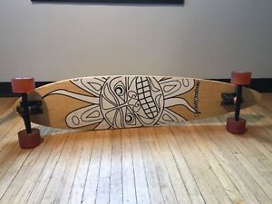 Long board - bamboo pinner