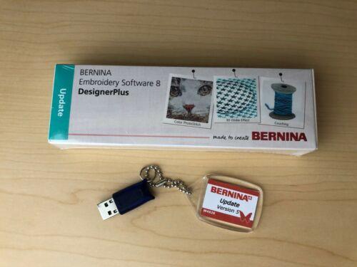 BERNINA Embroidery Software Version 8.2 (V8) Designer Plus