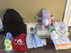 Baby stuff (some items are new)